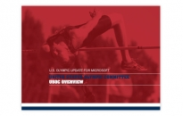 USOC Rebranded PowerPoint Template Section Title Page